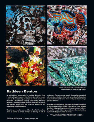 My Artwork in Direct Art Magazine